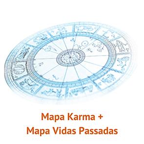 Mapa Karma e Mapa Vidas Passadas